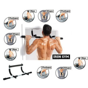 Iron Gym Total Upper Body Workout Bar | Gym Equipment | Fitness Equipment | Exercise Equipment