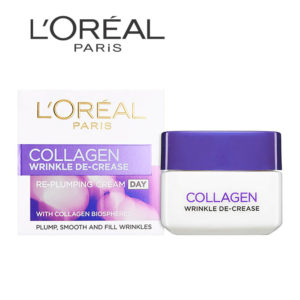 Loreal collagen wrinkle decrease day cream