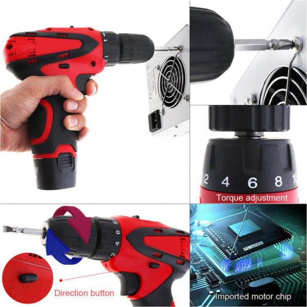 screwdriver rechargeable machine